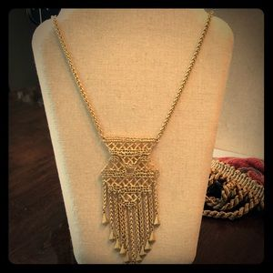 Beautiful Lace design necklace, adjustable length